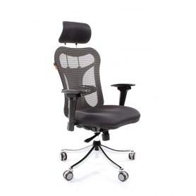 Офисное кресло CHAIRMAN 769, ткань TW 12, цвет черный