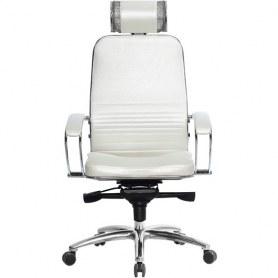 Офисное кресло Samurai KL-2.03, белый лебедь