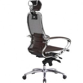 Офисное кресло Samurai S-2.03, темно-коричневый