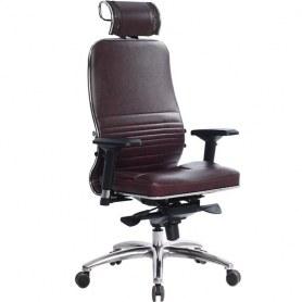 Офисное кресло Samurai KL-3.03, темно-бордовый