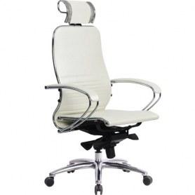 Офисное кресло Samurai K-2.03, белый лебедь