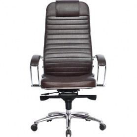 Офисное кресло Samurai KL-1.03, темно-коричневый