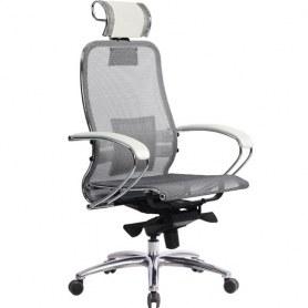 Офисное кресло Samurai S-2.03, белый лебедь