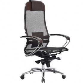 Офисное кресло Samurai S-1.03, темно-коричневый
