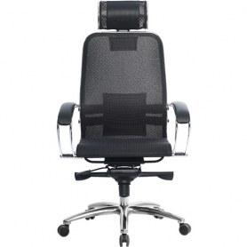 Офисное кресло Samurai S-2.03, черный плюс
