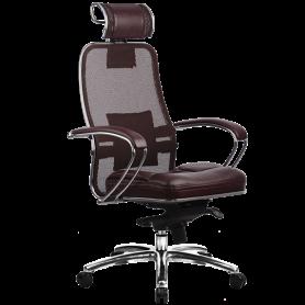 Офисное кресло Samurai SL-2.03, темно-бордовый