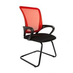 Офисное кресло CHAIRMAN 969V, цвет красный