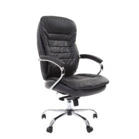 Офисное кресло CHAIRMAN 795 кожа, цвет черный