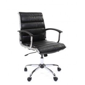 Офисное кресло CHAIRMAN 760М, экокожа, цвет черный