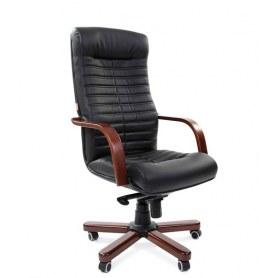 Офисное кресло CHAIRMAN 480 WD, экокожа, цвет черный