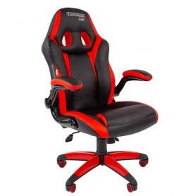 Кресло CHAIRMAN GAME 15, цвет черный / красный