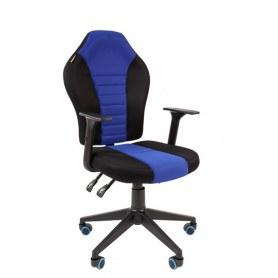 Кресло CHAIRMAN Game 8, цвет TW черный/синий