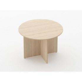 Стол для переговоров Glassy 2.12 цвет Туя 1100х1100х750