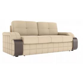 Прямой диван Николь, Бежевый (рогожка)