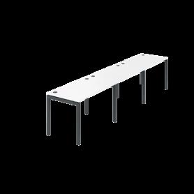Бенч линейный Арго-М АМБЛ-002-3 (Белый)