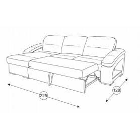 Угловой диван Рокси 1, Арт. 40433