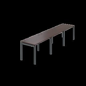 Бенч линейный Арго-М АМБЛ-004-3 (Дуб Венге)