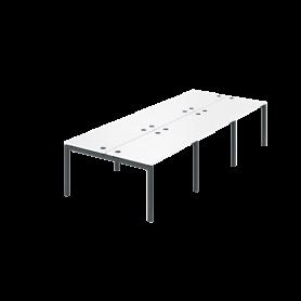 Бенч двойной Арго-М АМБ-004.60-6 (Белый)