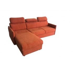 Угловой диван Мигель с оттоманкой