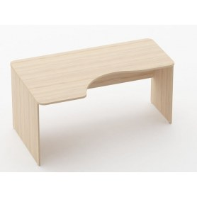Стол угловой Glassy 1.14.16Л цвет Туя 1600х1000(680)х751