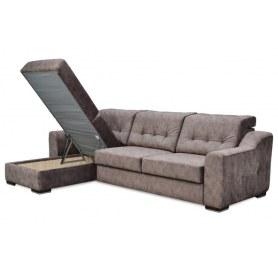 Угловой диван Матрица 26 ТТ с оттоманкой