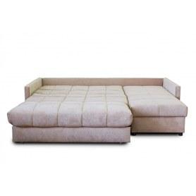 Угловой диван Аккордеон 043, 1400 с оттоманкой 700, TFK