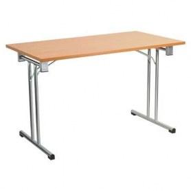 Стол складной FT140 silver 1380x680x760