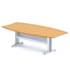 Конференц-стол Boston DKS-244 на L-образном метал каркасе