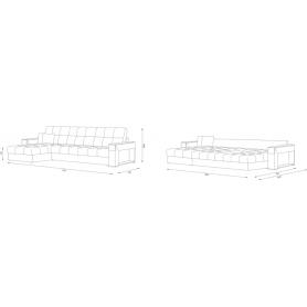 Угловой диван Женева ДУ (НПБ)