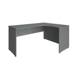 Стол письменный А.СА-4П 1600х1200х755 мм. Серый