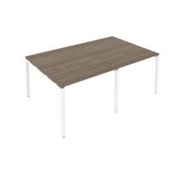 Стол переговорный Б.ПРГ-2.1 Вяз/Белый