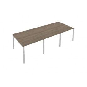 Стол переговорный Б.ПРГ-3.2 Вяз/Серый