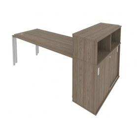 Стол письменный Б.РС-СШК-3.4 Вяз/Серый