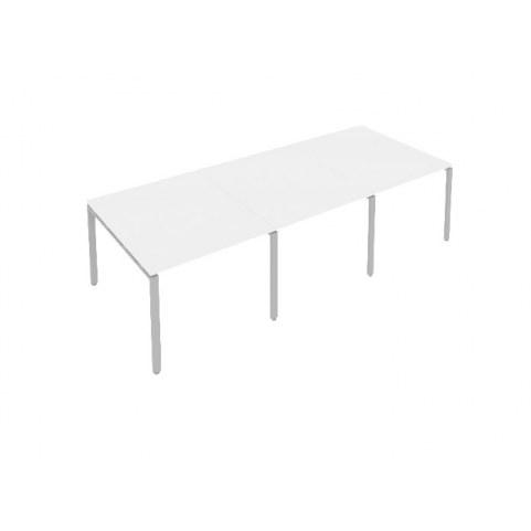 Стол переговорный Б.ПРГ-3.1 Белый/Серый