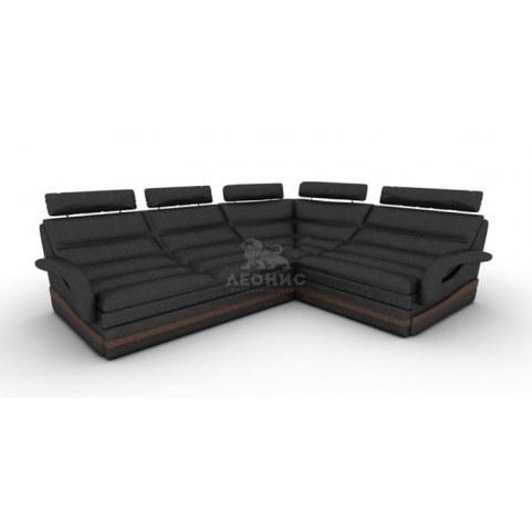 Угловой диван Лео КИТ-9 МУ, угол с сектором