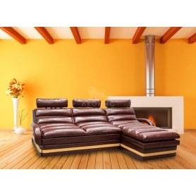 Угловой диван Лео КИТ-9 с оттоманкой