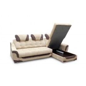 Угловой диван Лео КИТ-8 с оттоманкой