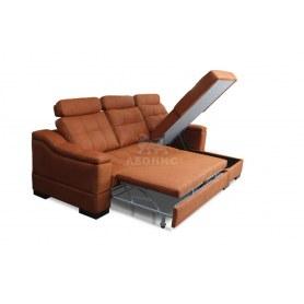 Угловой диван Лео КИТ-21  с оттоманкой