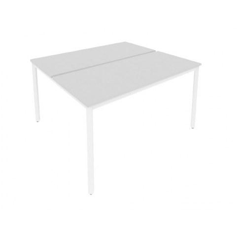 Стол письменный С.СП-6.3 Серый/Белый
