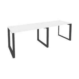 Стол письменный O.MO-RS-2.2.8, Антрацит/Белый бриллиант