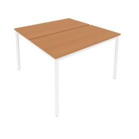 Стол письменный С.СП-4.2 Груша/Белый