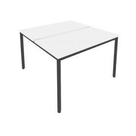 Стол письменный С.СП-6.2 Белый/Антрацит