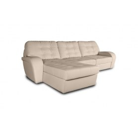 Угловой диван Монреаль, цвет Monaco Ivori (кожзам)