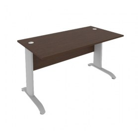 Стол письменный ПЛ.СП-3 1400х720х755 Венге Металлик