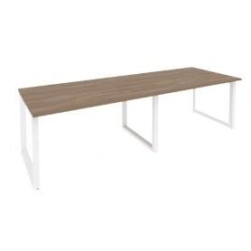 Стол переговорный O.MO-PRG-2.3 Белый/Дуб Аризона