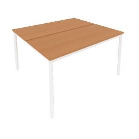 Стол письменный С.СП-5.3 Груша/Белый