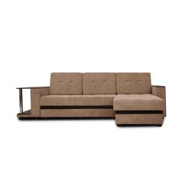 Угловой диван Атланта, цвет Наполи 03 / SDB (ткань/кожзам)