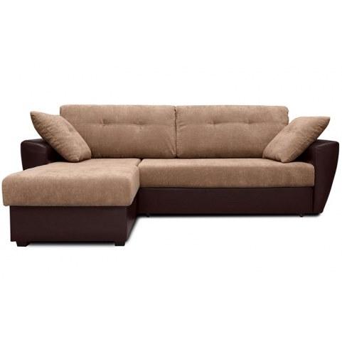 Угловой диван Амстердам, цвет Наполи 03 / SDB (ткань/кожзам)