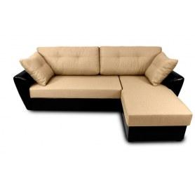 Угловой диван Амстердам, цвет Браво 5 / SDB (ткань/кожзам)
