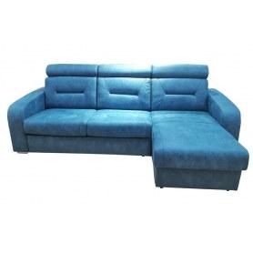 Угловой диван Индиго с оттоманкой